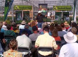 Dr Allan Armitage previewing 2013 hot new plants